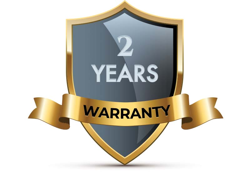 Psytronic's 2-year full replacement warranty